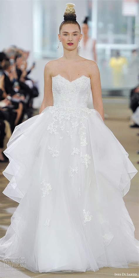 Ines Di Santo Spring 2018 Wedding Dresses ? New York