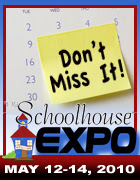 Schoolhouse Expo and Digital Supscription to The Old Schoolouse Magazine