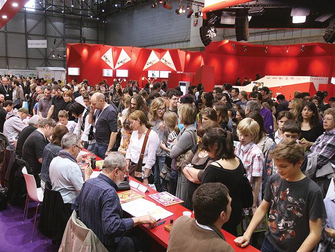 Aspectos de la pasada edición del Salón del Libro de Ginebra. Fotos: Conaculta