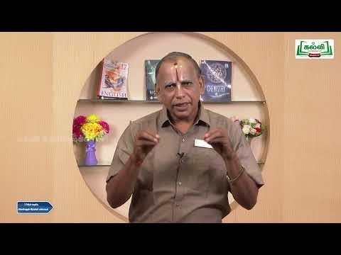 12th Science And Indian Culture பகுதி 2  Kalvi TV