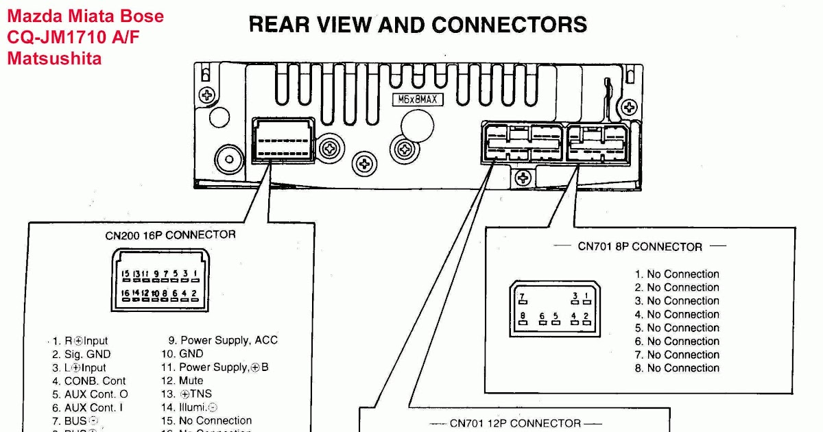 2007 Ford Explorer Radio Wiring Diagram