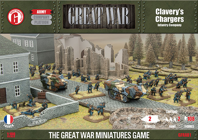 Clavery's Chargers Infantry Company (GFRAB01)