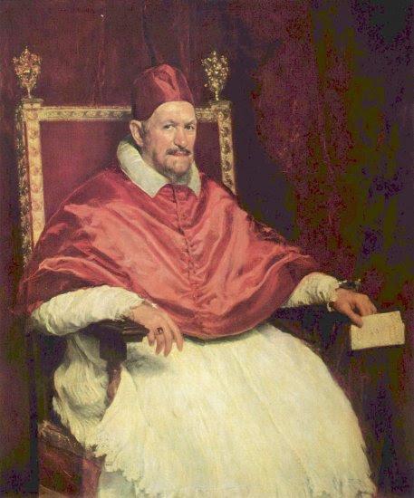 Retrato del Papa Inocencio X -  Diego  Velázquez - artelista.com