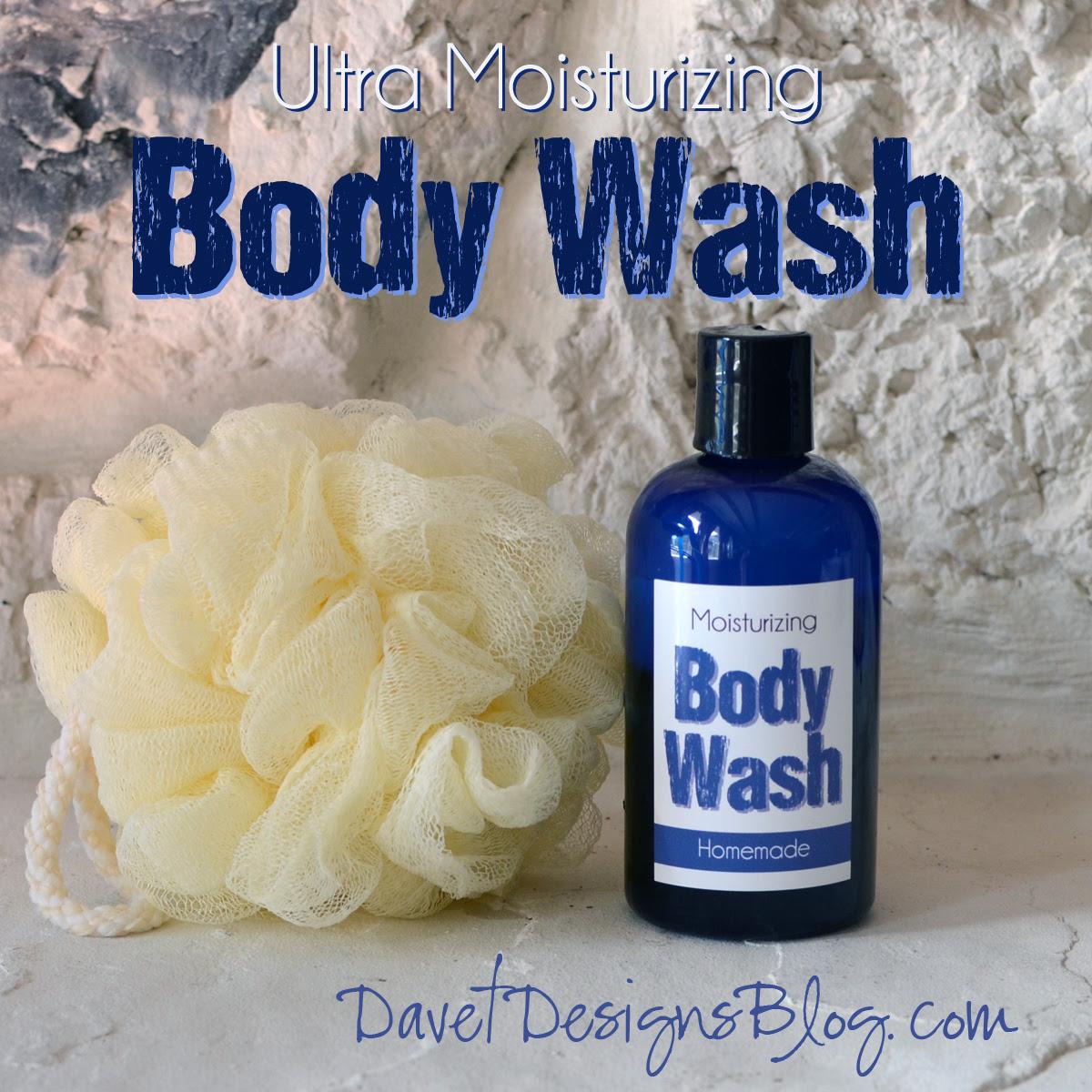 Homemade DIY Ultra Moisturizing Body Wash