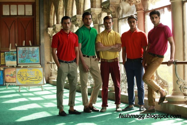 Mens-Wear-New-Summer-Collection-2013-By-Gul-Ahmad-Ideas-Jeans-Pents-Tshirts-