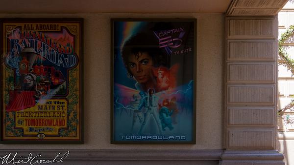 Disneyland Resort, Disneyland, Main Street U.S.A., Captain EO, Poster