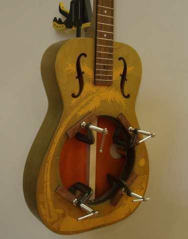 Model dobro resonator guitar x
