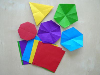 Polígons de paper. Carme Garcia