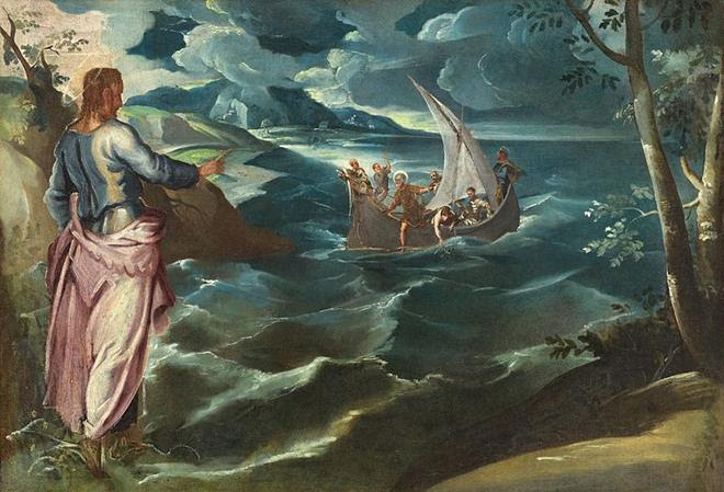 File:Tintoretto, Jacopo - Christ at the Sea of Galilee.jpg