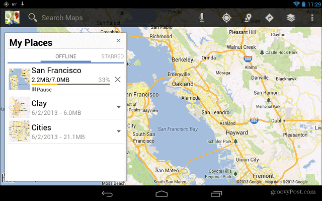 How To Make Google Maps Available Offline On Android