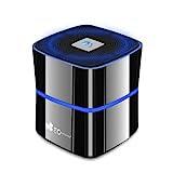 EC Technology 5W ポータブルミニBluetooth4.0スピーカー ブラック