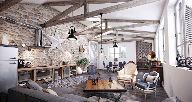 Awesome Grey Brick Wallpaper Living Room Ideas pictures