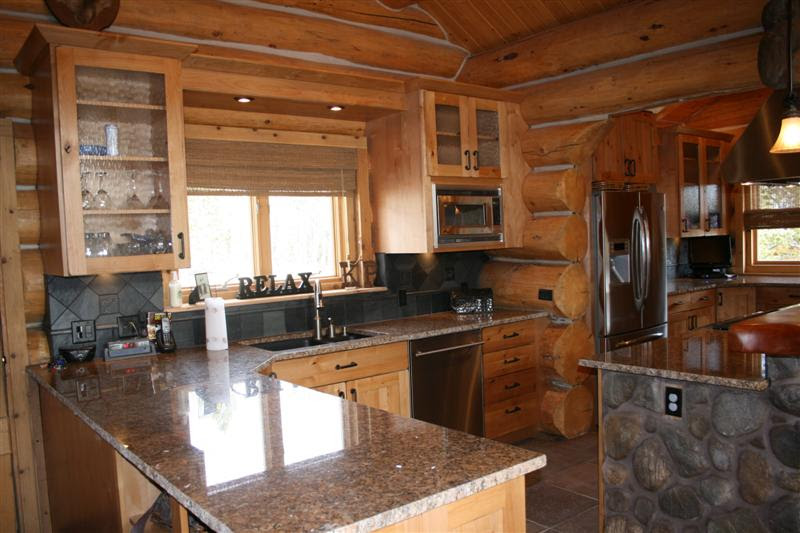 log cabin kitchen ideas decoration log cabin decorating ideas pictures with 20413