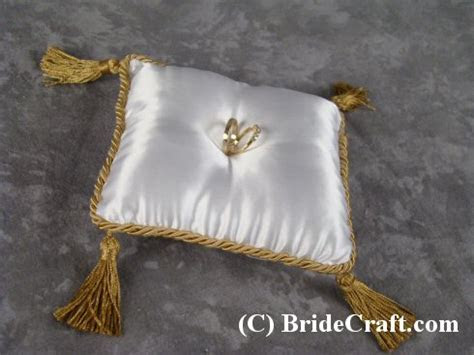 Custom Ring Bearer Pillow