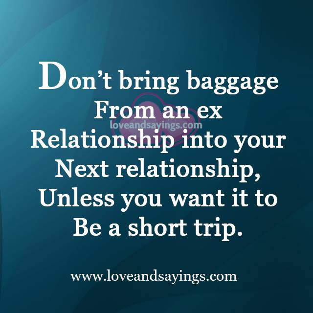 Quotes About Ex Relationship 42 Quotes