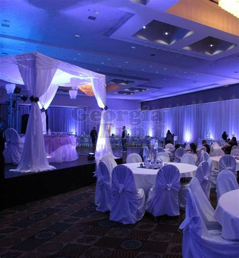 Wedding Canopy/Chuppah Party Rental, Pipe and Drape