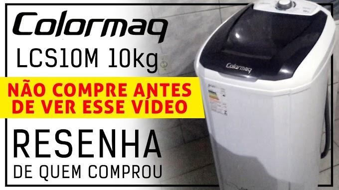 Tanquinho Colormaq LCS10M 10kg Opnião de quem comprou
