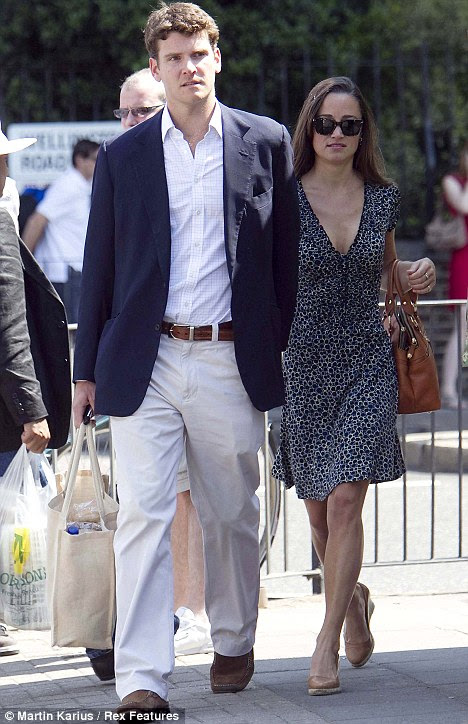 According to reports, Pippa Middleton's 18-month romance with Old Etonian Alex Loudon ended because his family considered her not quite 'wife material'