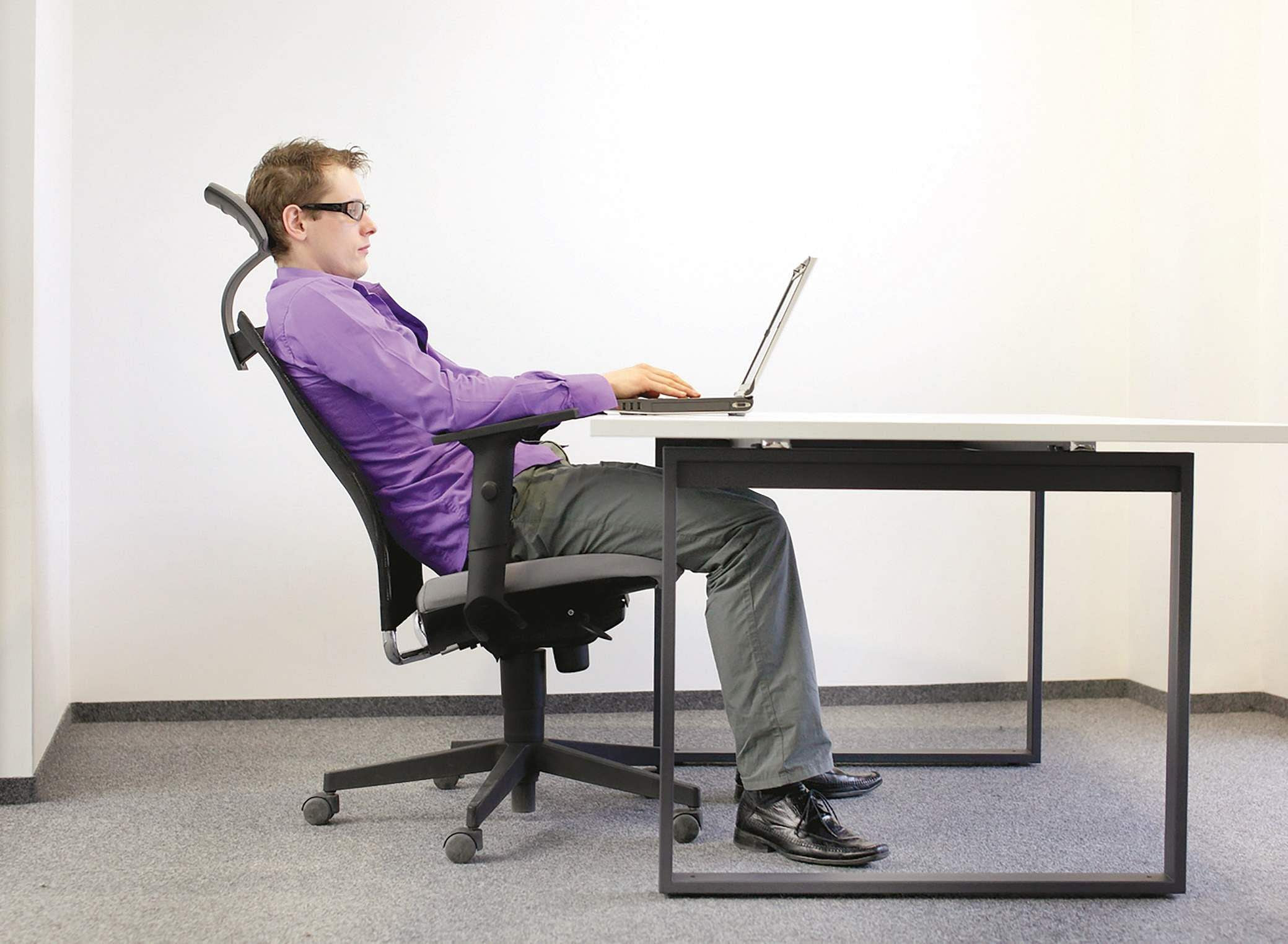 At the desk? sit up straight- The New Indian Express