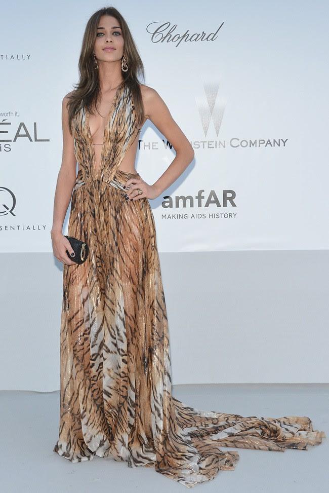 4 Ana Beatriz Barros in Roberto Cavalli@amfAR gala 2012-05-24 Cannes