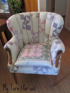 Patchwork Quilt Chair