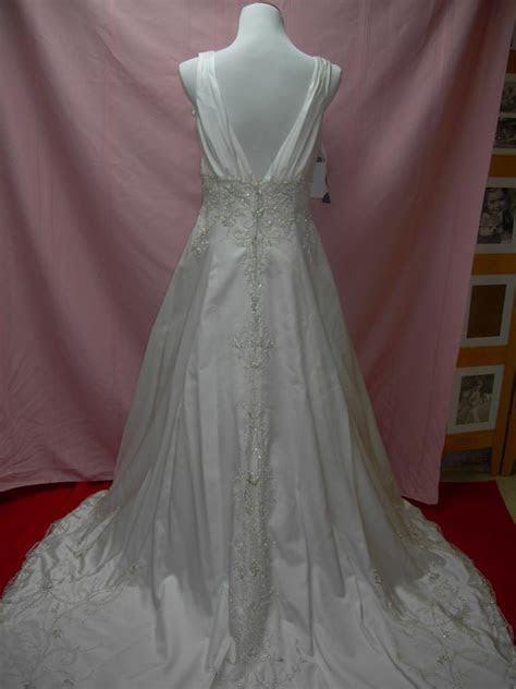 Alfred Angelo Uk767 Wedding Dress   Tradesy Weddings