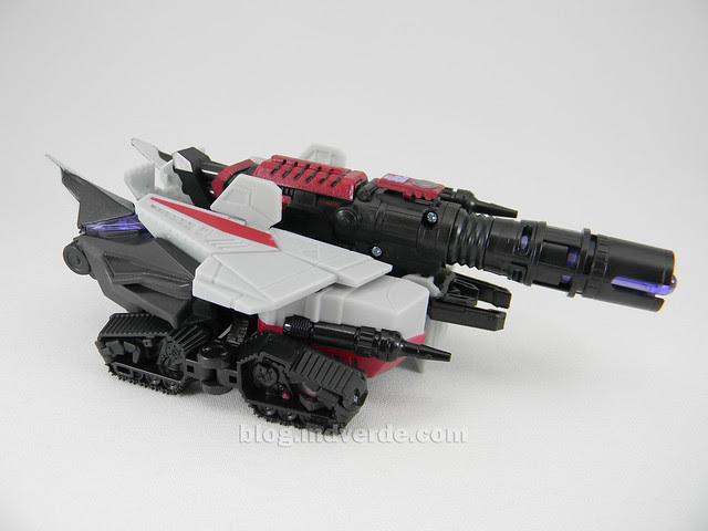 Transformer Cybertronian Megatron Generations Deluxe - modo alterno