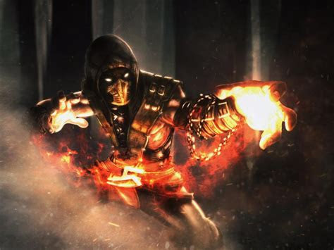 cool pictures  scorpion  mortal kombat  andre