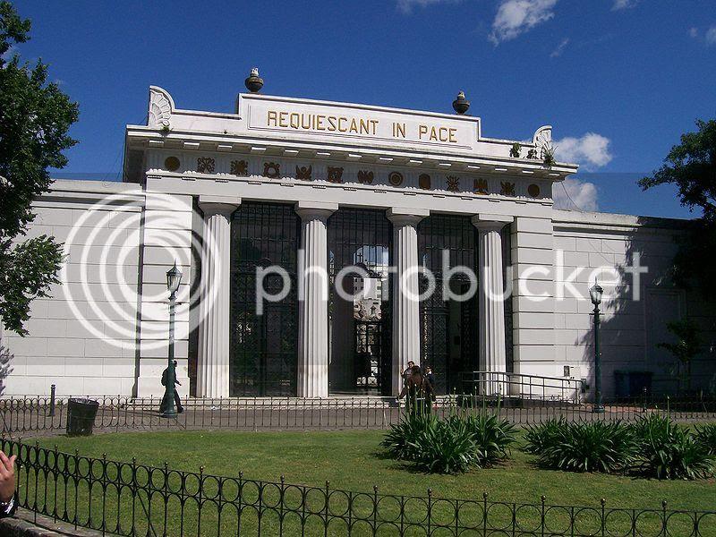 La Recoleta Tourist Attraction in Argentina