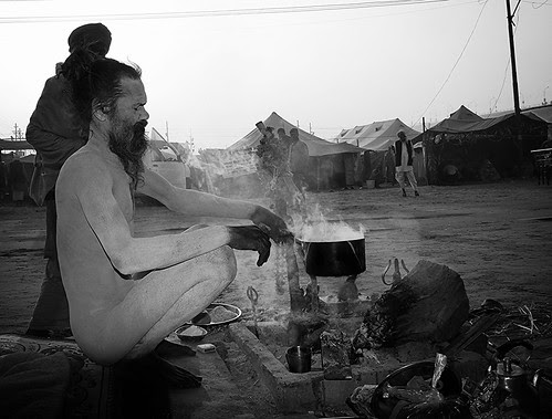 The World of Naga Babas At Maha Kumbh by firoze shakir photographerno1