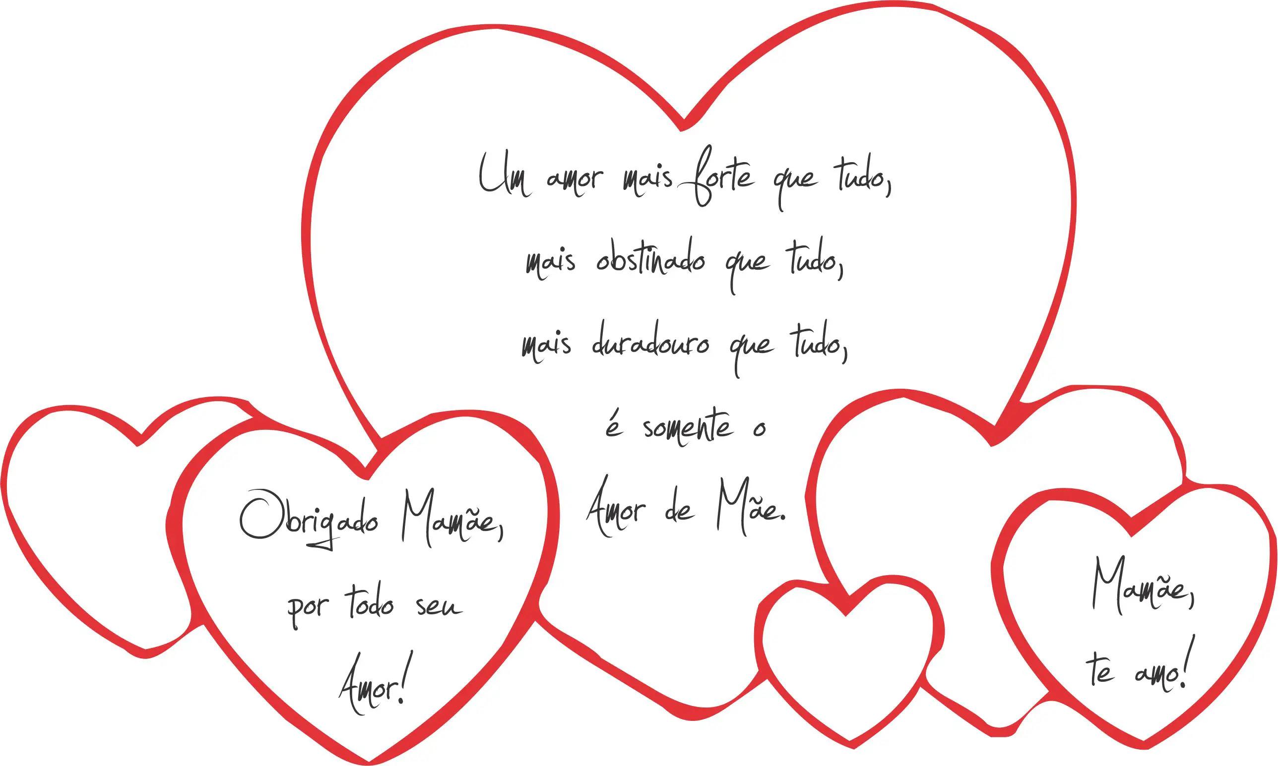 Frases Curtas Para Dia Das Mães Pequenas E Homenagem Mensagens