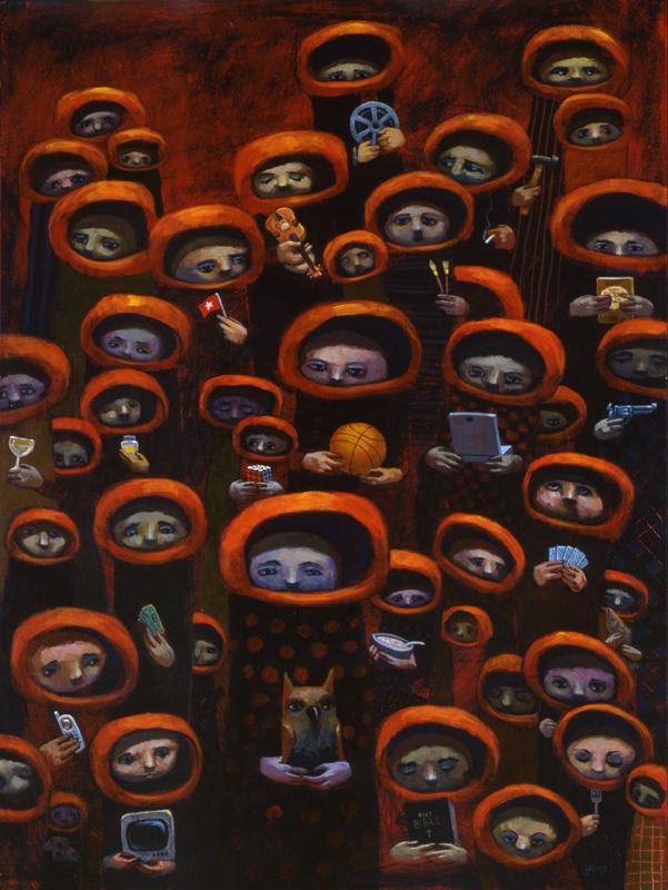 Priests of Preoccupation by jasinski
