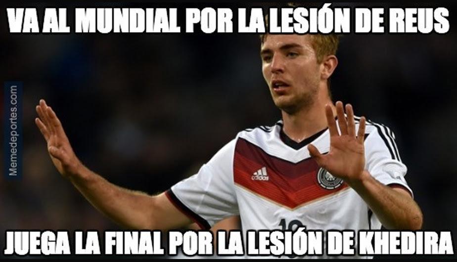 Selección de Alemania, Selección de Argentina, Brasil 2014, Memes, Copa del Mundo 2014, Final Copa del Mundo Brasil 2014