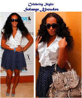 Celebrity Style: Solange Knowles