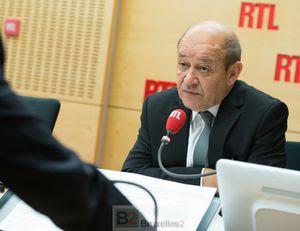 le ministre français de la Défense, Jean-Yves Le Drian