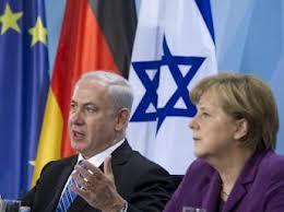 Angela Merkel et Benjamin Netanyahou