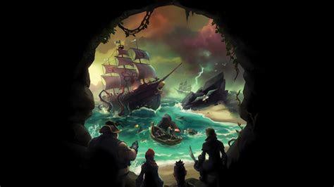 wallpaper sea  thieves  games xbox  pc