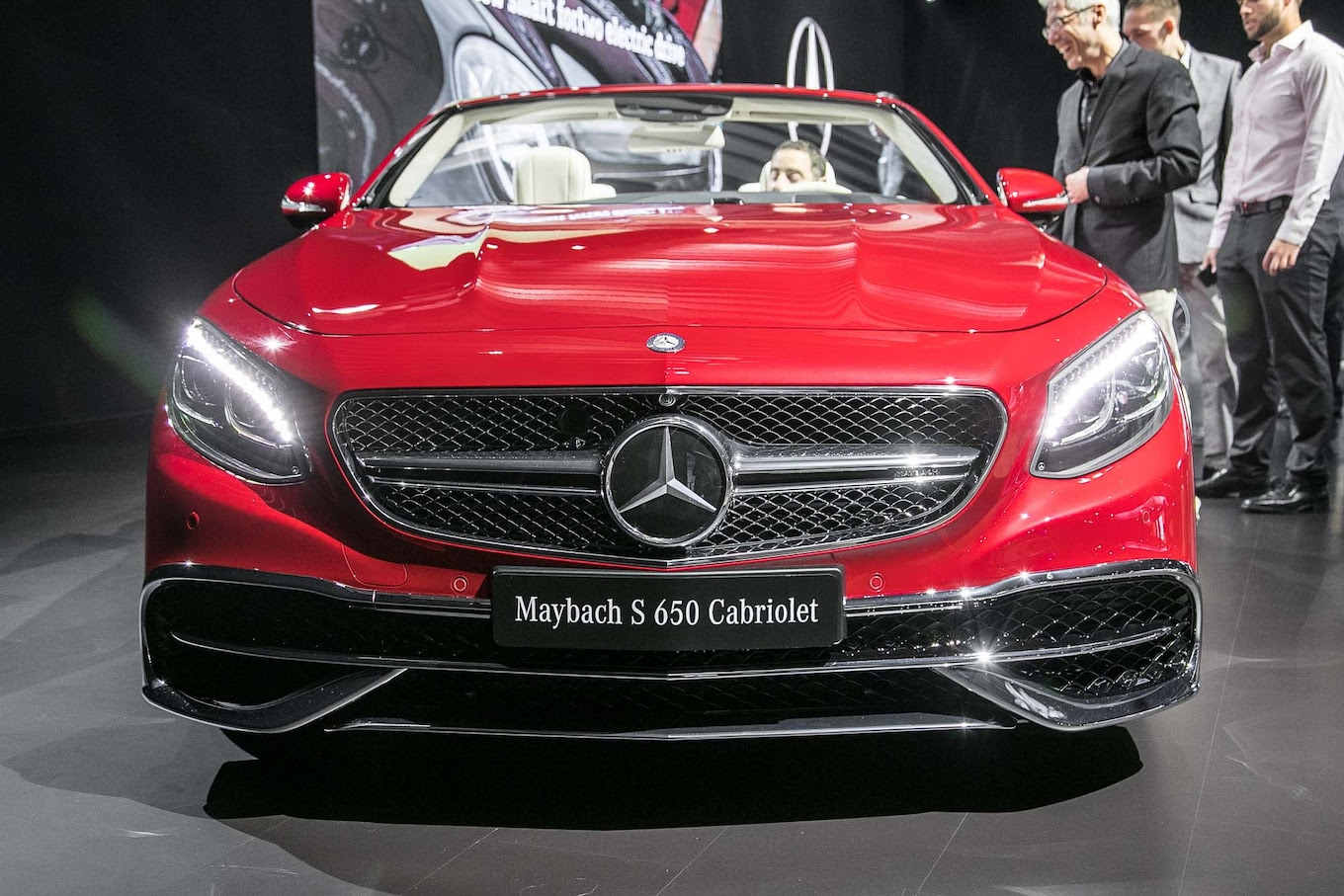 Rare 2017 Mercedes-Maybach S650 Cabriolet Debuts in L.A ...