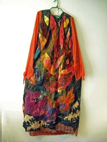 fire dress by Lorie McCown