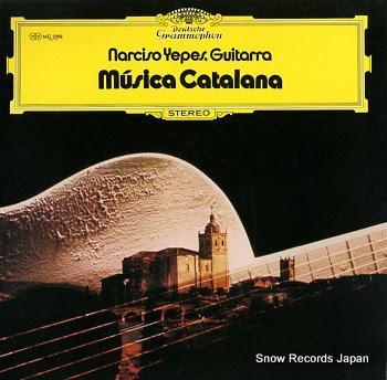 YEPES, NARCISO musica catalana
