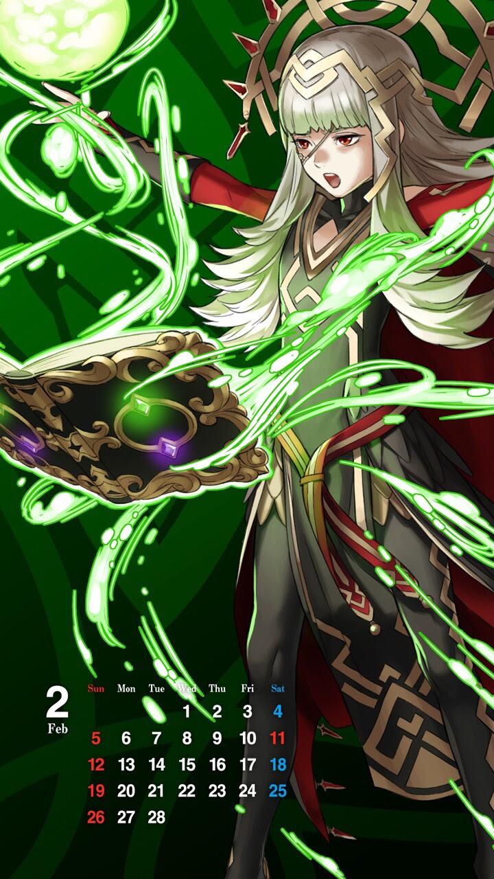 Fire Emblem Heroes Official Veronica Smartphone Wallpaper