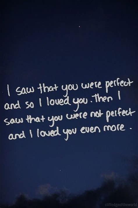 Perfectly Imperfect Love Quotes