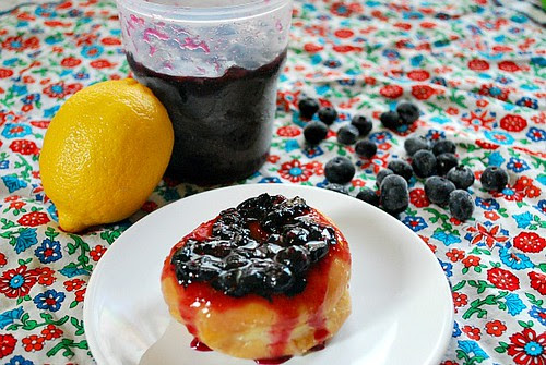 Blueberry Lemon Freezer Jam