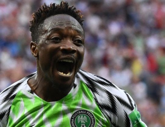 World Cup 2018: FIFA Considers Ahmed Musa's Goal As One Of Best In Russia