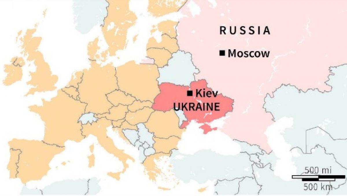 Ces 10 Cartes Vont Vous Aider A Comprendre La Situation En Ukraine Slate Fr