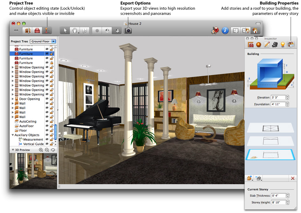 Free Interior Design Software Download Easy Home Office Plans Home Design