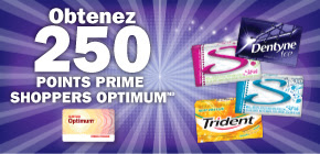 Trident, Stride, Dentyne