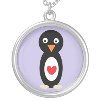 Penguin Love necklace