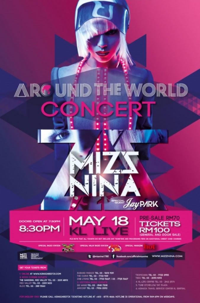 Mizz Nina Around The World Concert