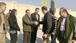 L'inviato Usa Brett McGurk ha incitato i curdo-siriani a dichiararsi autonomi - Kobani, gennaio 2016